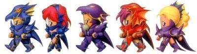 Final Fantasy Jobs Dragoon